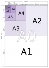 Paper Sizes Chart - Visual