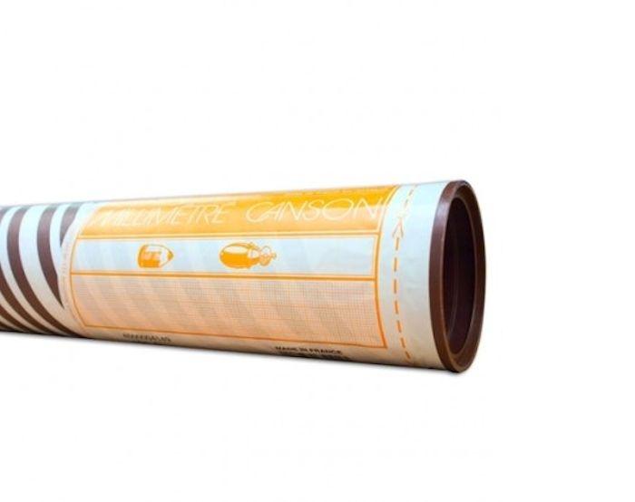 750mm x 10m cartridge graph paper 1 5 10mm