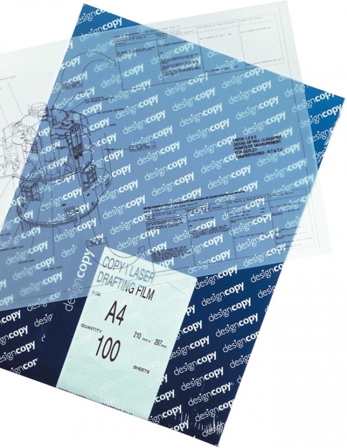 a4 designcopy copier  laser drafting film 75 micron