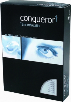 A4 Conqueror Smooth 100gm Cream Wove