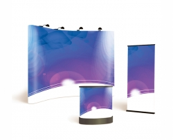 Pop-up Film Satin 310mic 1067mm x 20m roll DesignGraphics Solvent