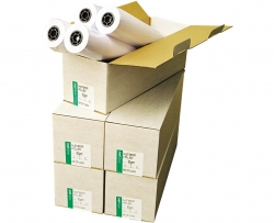 1067mm x 45m Plotter Paper Roll 90gsm White