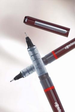 Choice of 0.1-0.8 Rotring Tikky Graphic Black Fibre Tip Pen
