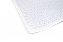 A1 Designdraft Metric Graph Sheets 1,5,10mm - Cartridge Paper 100gm