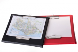 A4 Landscape WeatherWriter Clipboard Red