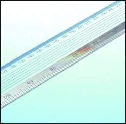 375mm Blundell Harling Acrylic Graphics Ruler
