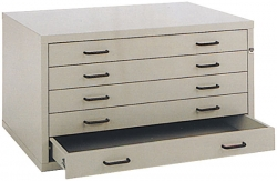 A0 4 Drawer Designfile Classic Style Planchest
