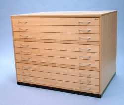 A0 12 Drawer Buckingham Planchests