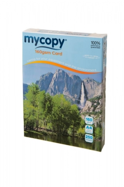 A4 Mycopy Card 160gm White