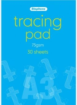 A3 Stephens Tracing Paper Pad 73gm