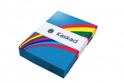 Kaskad A4 160gsm Kingfisher Blue Tinted Card