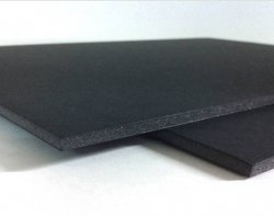A1 Foamboard Sheets Solid Black 5mm thick, pack of 10