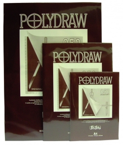 A3 Polydraw Drafting Film Pad 50 Micron, 15 sheets per pad