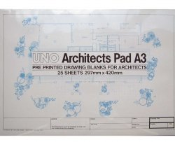 A1 Designdraft Architects� Drawing Blanks 90gm Sheets