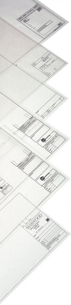 A0 Printed Drawing Sheets - Trace 112gsm - 1 colour