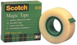 12x66m Scotch Magic Tape 810 Permanent
