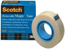 19x33m Scotch Magic Tape 811 Removable